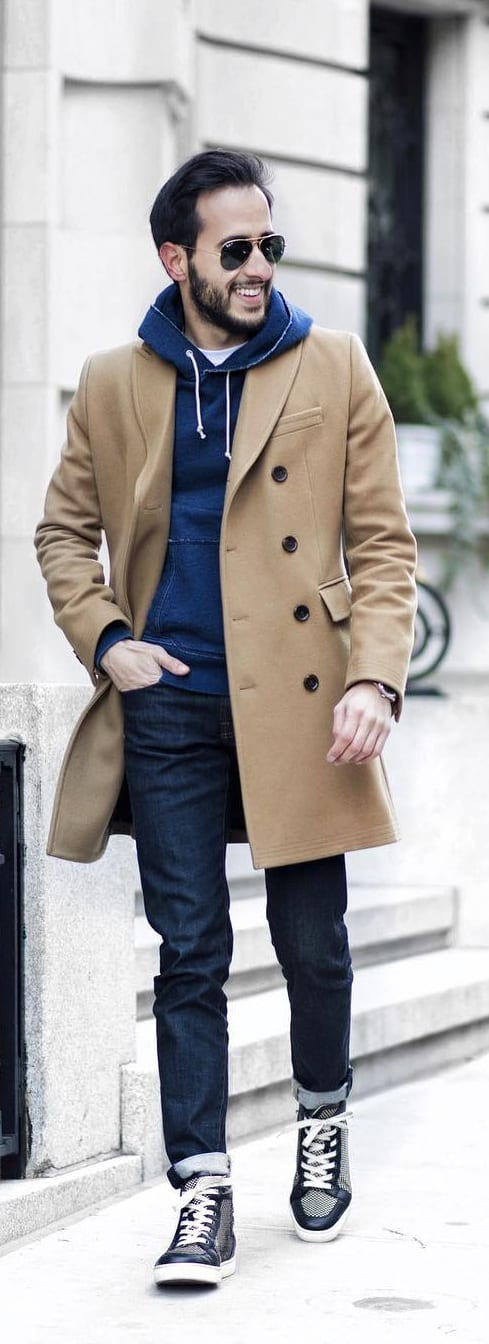 Fashionable Coat Outfit Ideas For Men