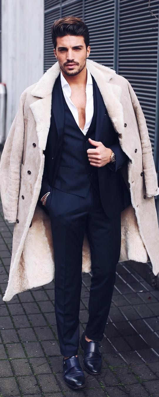 Formal Coat Outfit Ideas For Men
