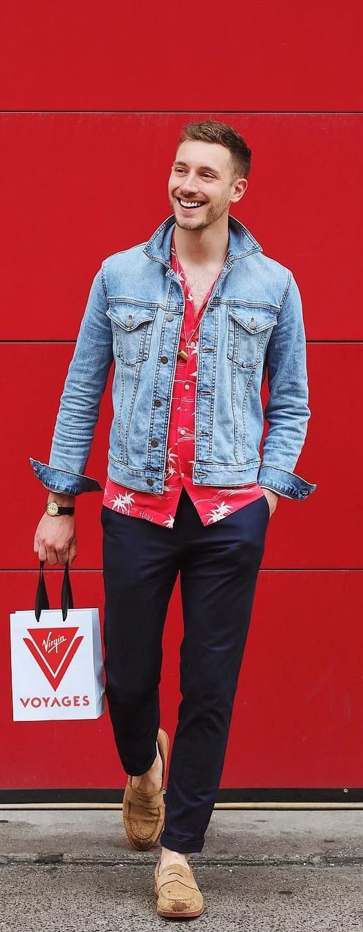 Street Style Casual Outfit For Men