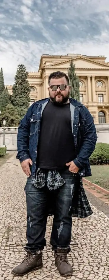 Stylish Outfit Ideas For Fat Men