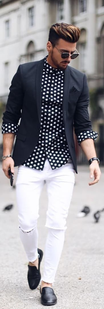 Trendiest Printed Shirt Outfit Ideas For Men