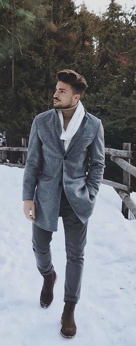 Trendy Coat Outfit Ideas For Men