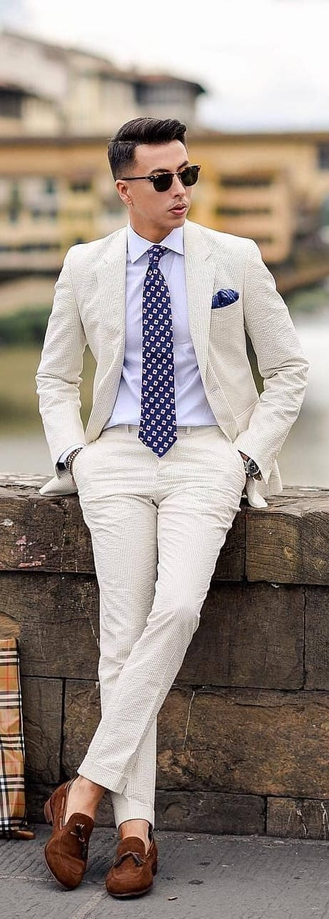 Trendy Suit Combination Ideas For Men