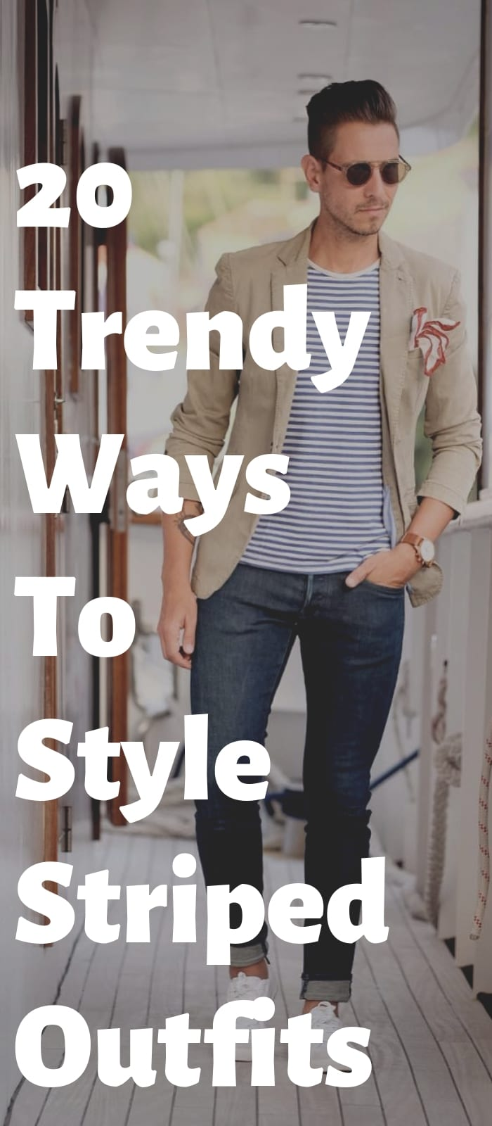 20 Trendy Ways To Style Striped Outfits