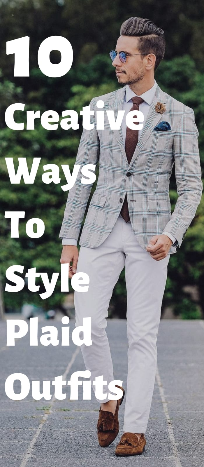 10 Creative Ways To Style Plaid Outfits !