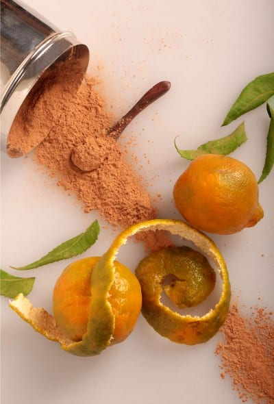 Orange Peel Mask For Oily Skin