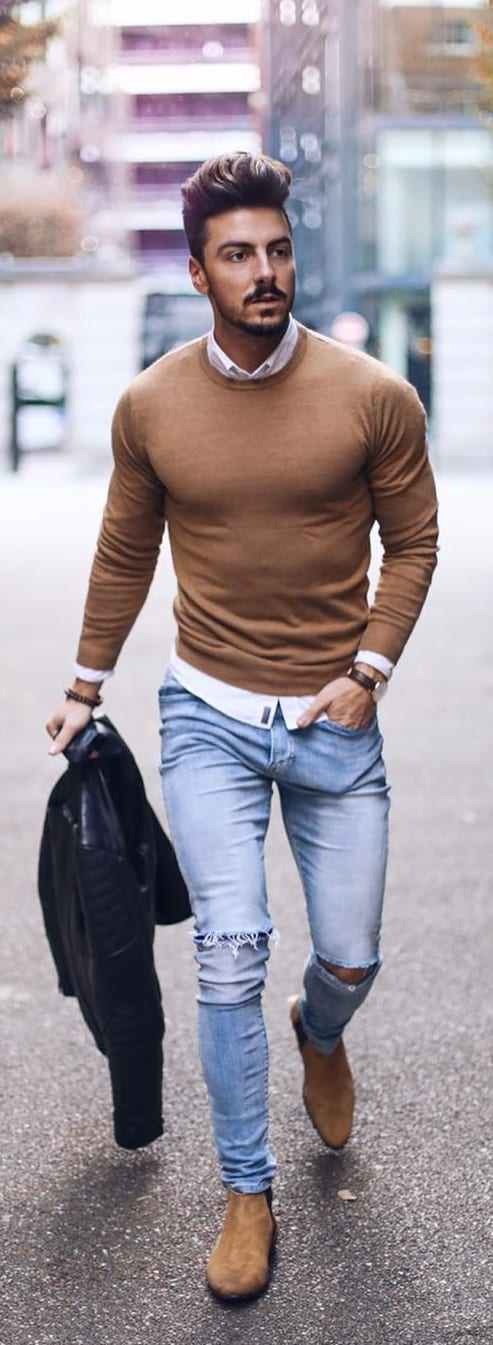 Stunning Sweater Outfit Ideas For Men