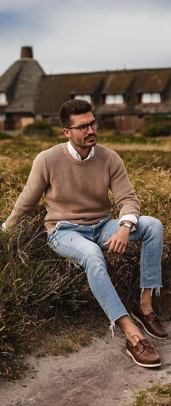 Stylish Sweater Outfit Ideas For Men