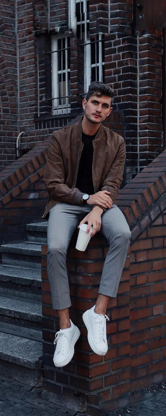 Bomber Jacket Outfit Ideas For Men