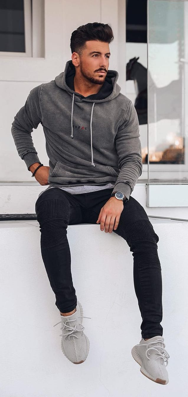 Cool Hoodie Outfit Ideas For Men
