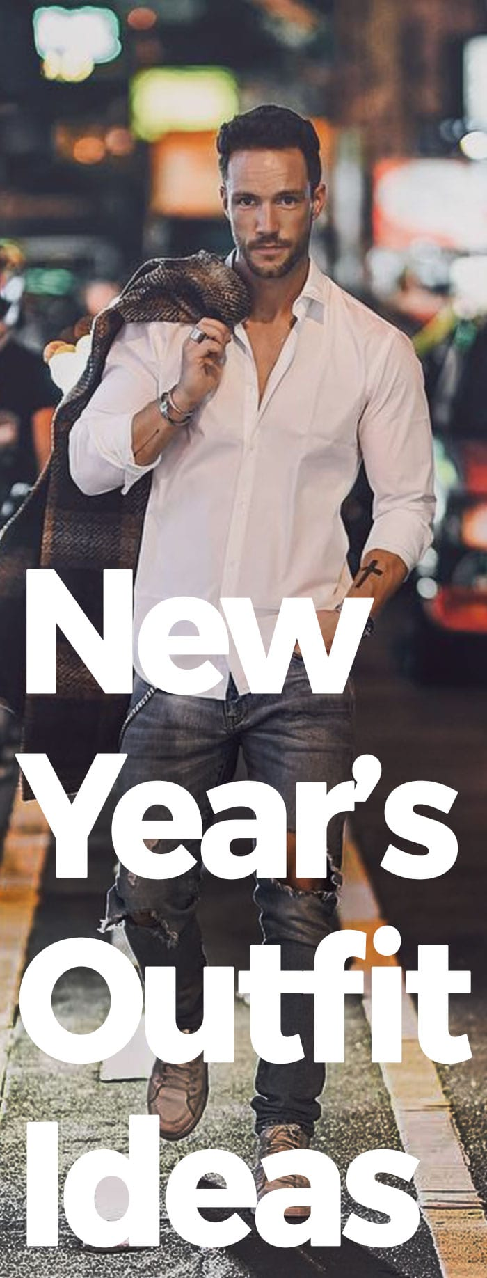 New Year's Outfit Ideas For Men