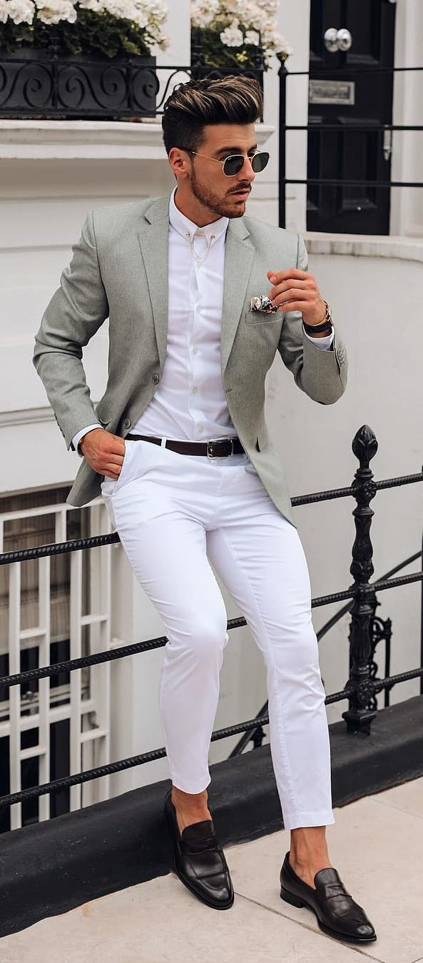 Tuck In Shirt Outfit Ideas For Men