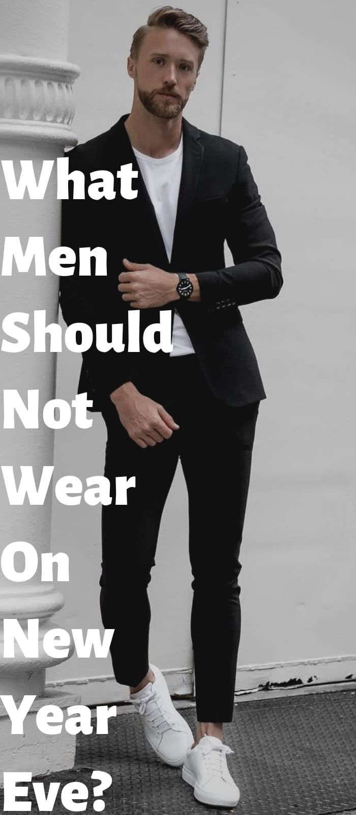 What Men Should Not Wear On New Year Eve.