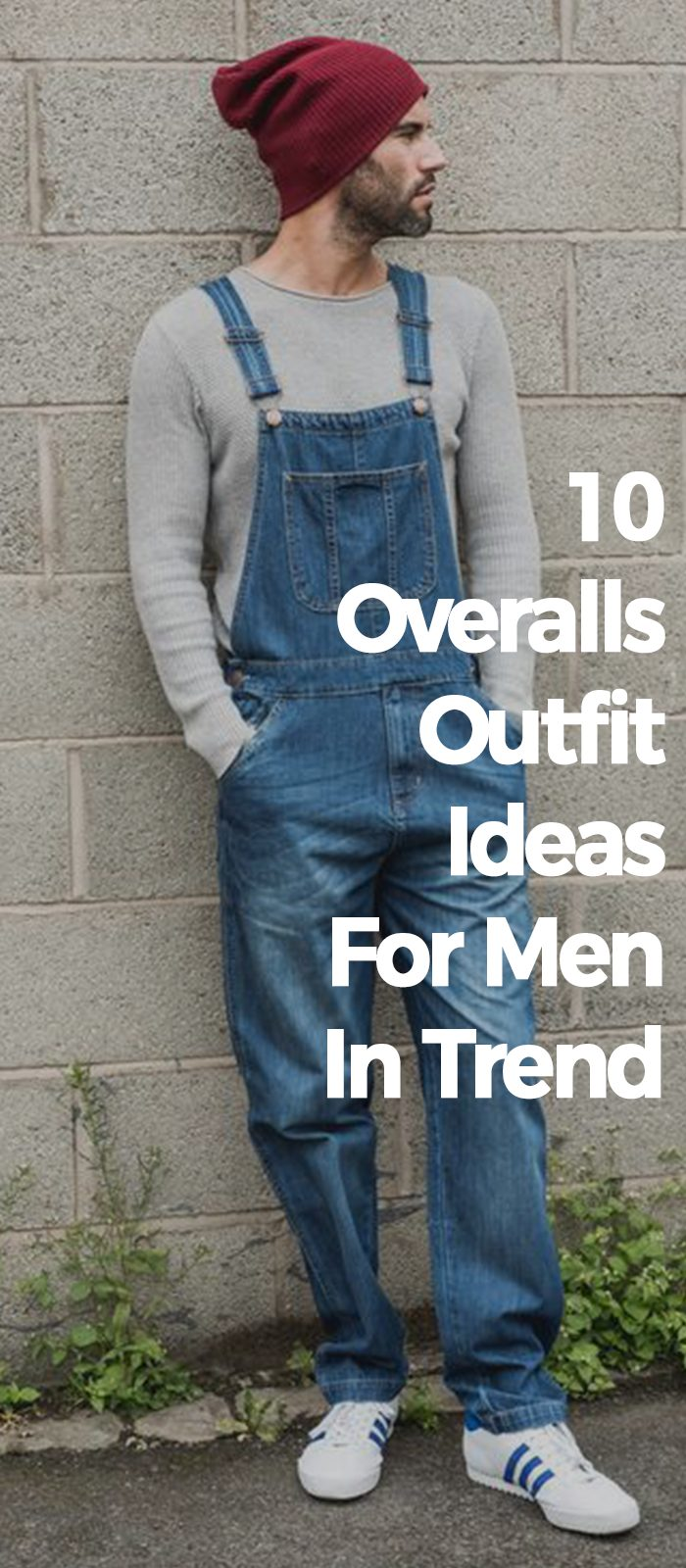 10 Overalls Outfit Ideas For Men In Trend!