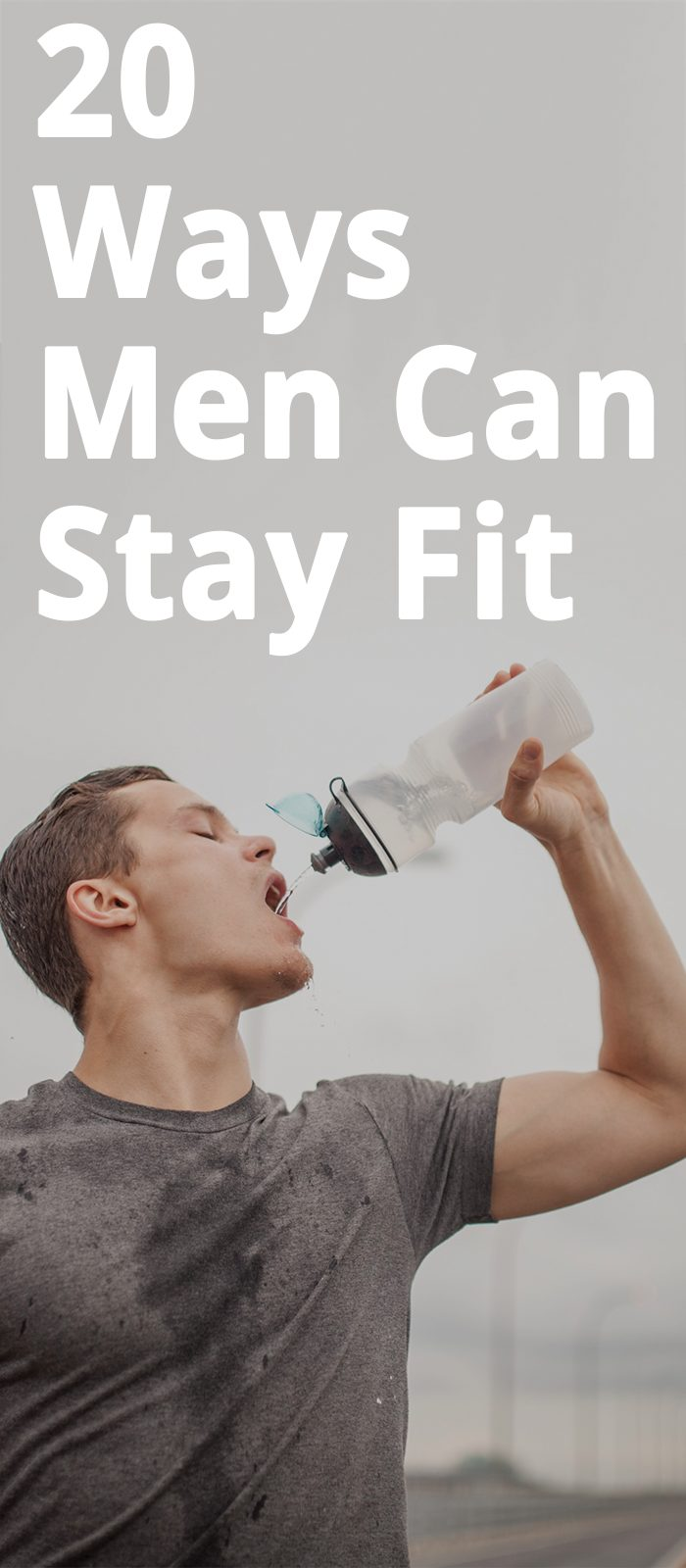20 Ways Men Can Stay Fit