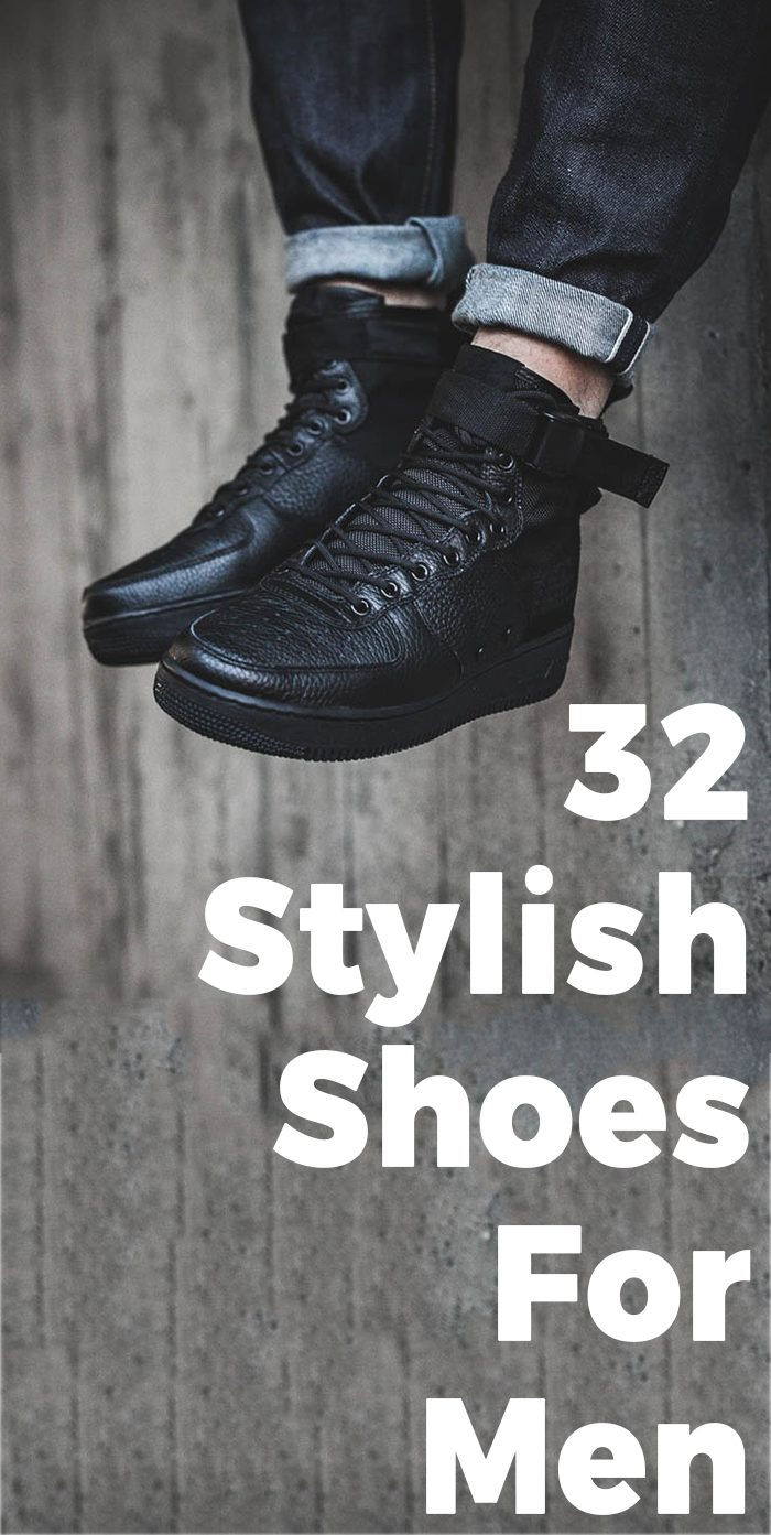 32 Stylish Shoes For Men.