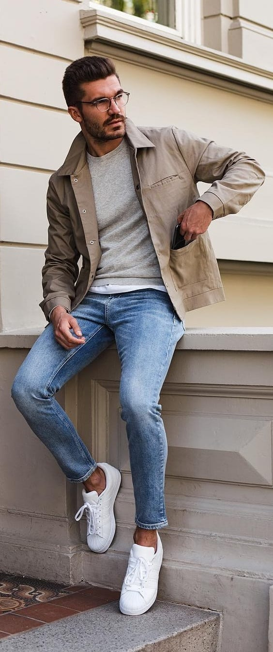 Cool Crew Neck Outfit Ideas For Men