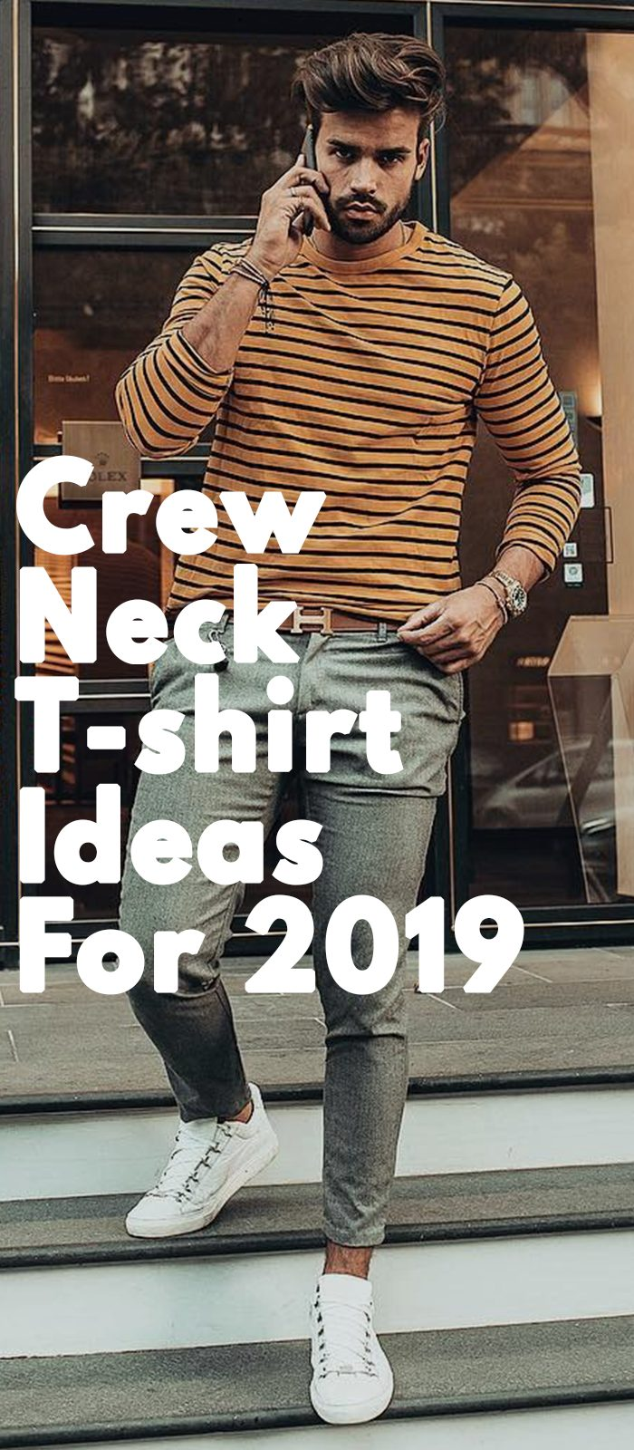 Crew Neck T-shirt Ideas For 2019