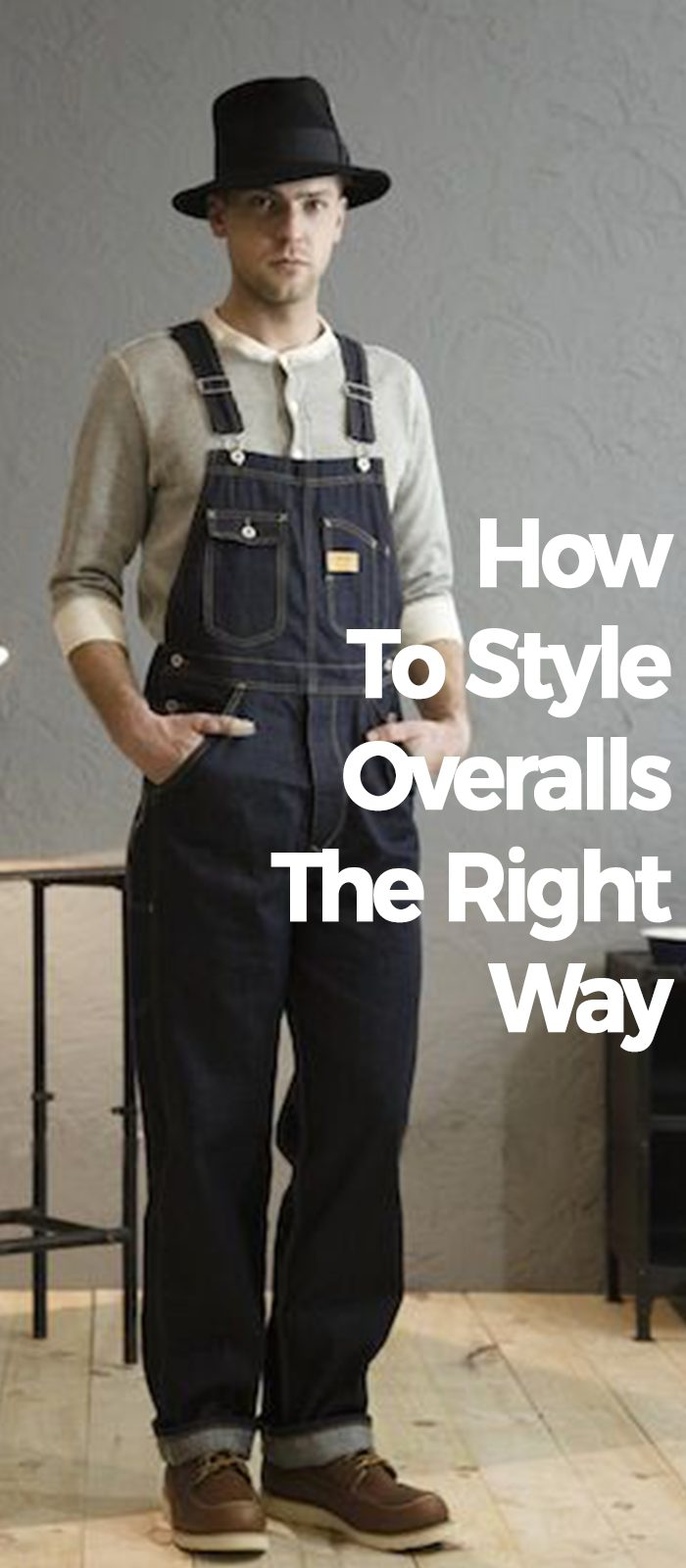 How To Style Overalls The Right Way