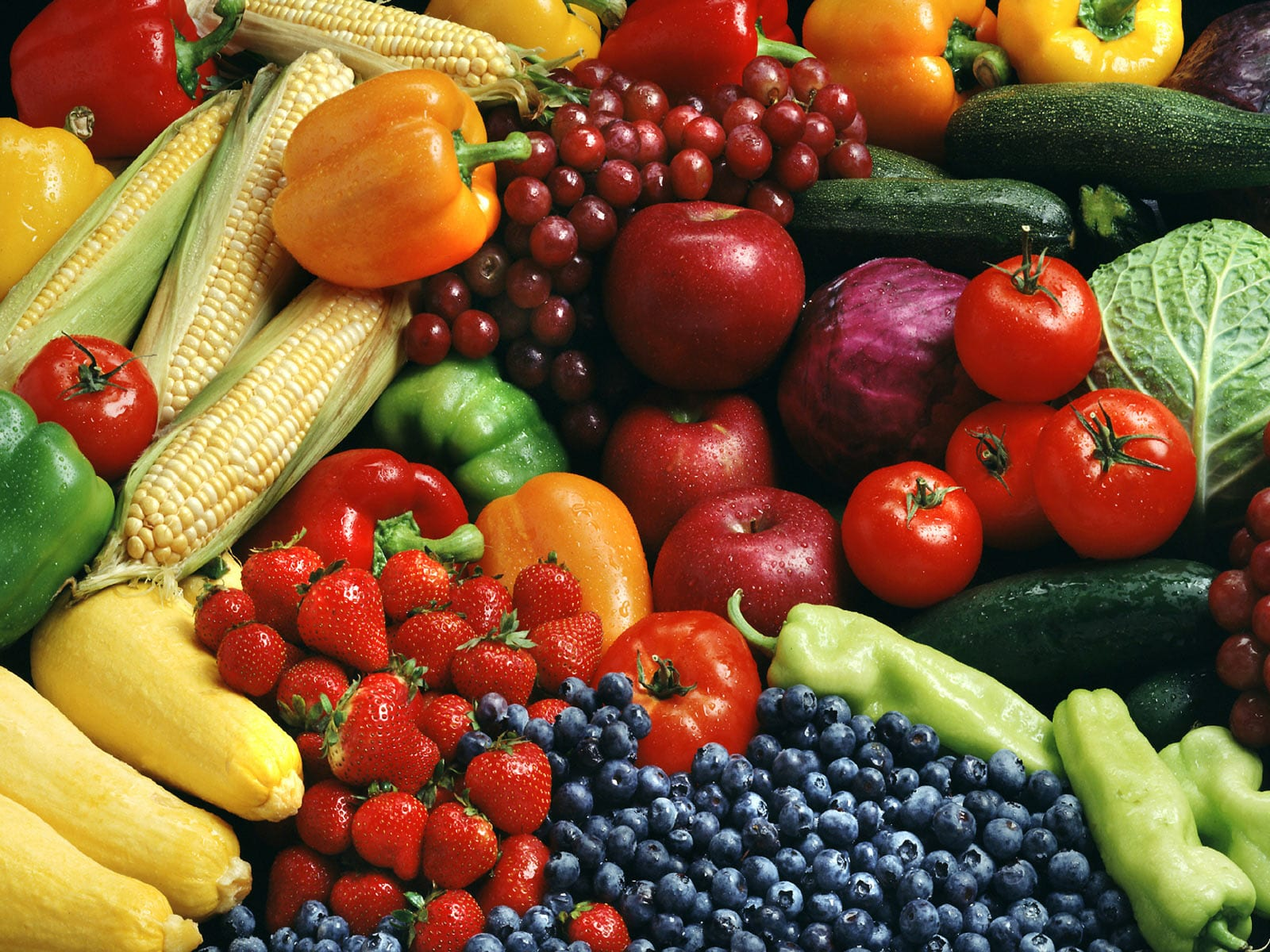 Pick a diet with lots of fruits and vegetables