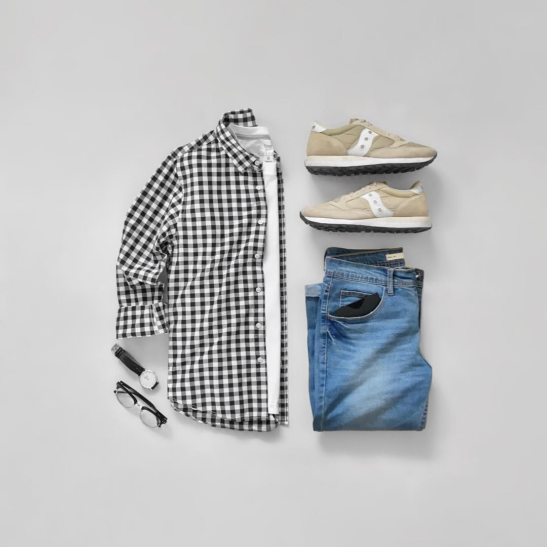 Simple Outfit Of The Day For Men