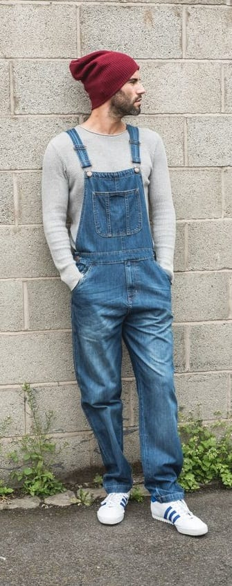 Stunning Overalls Outfit Ideas For Men