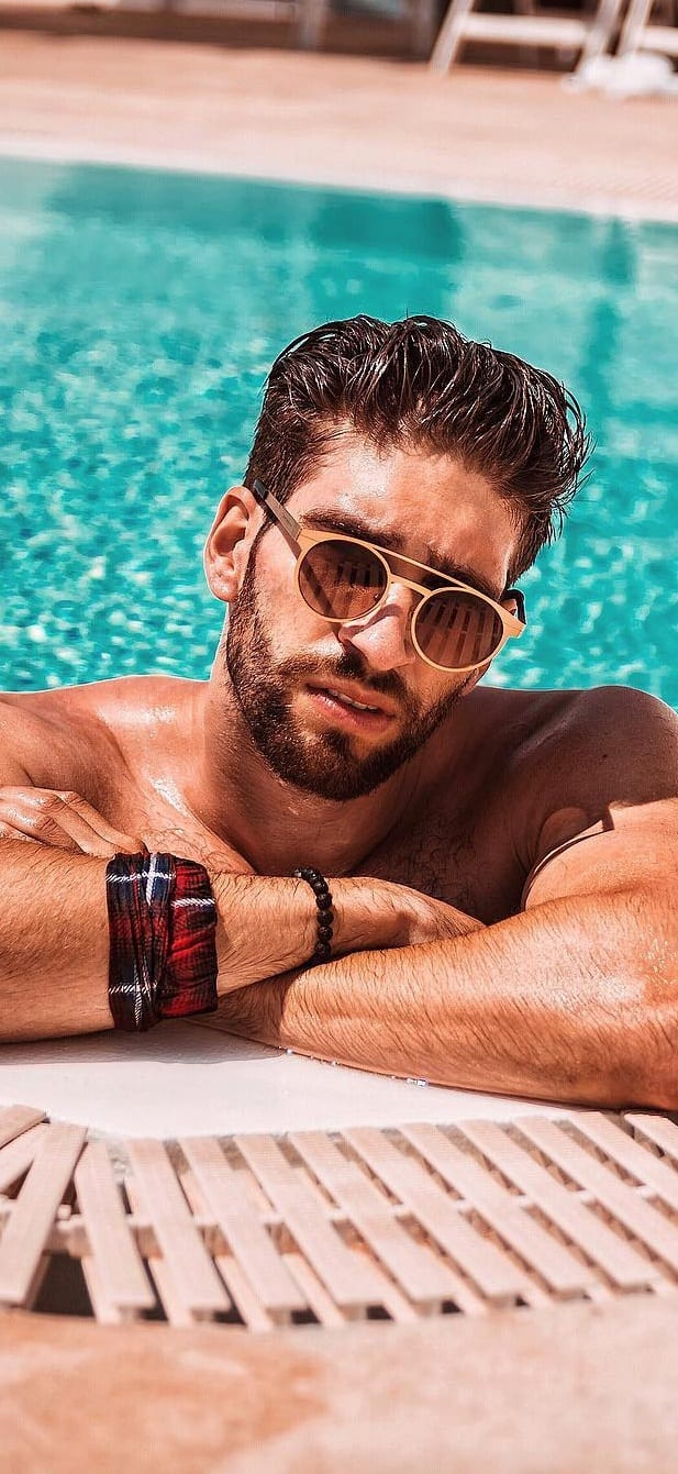 Stylish Round Sunglasses For Men