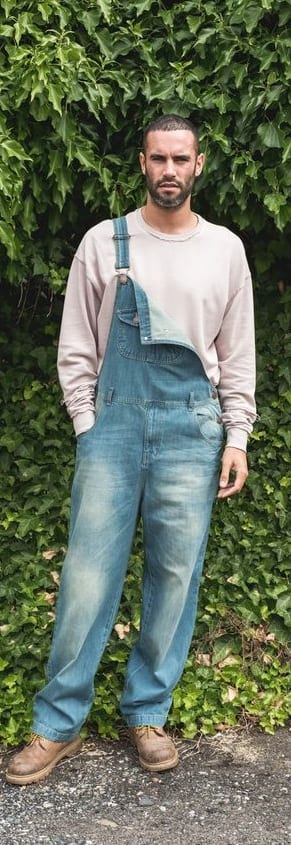 Trendy Overalls Outfit Ideas For Men This Year