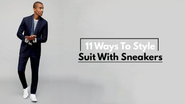 11 Ways To Style Suit With Sneakers