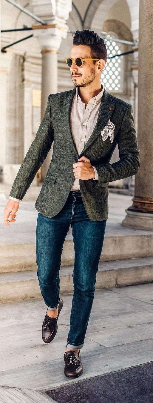 Dress Shirt Outfit Ideas For Men