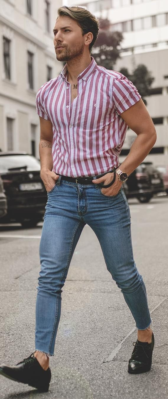 Few Outfit Ideas For Men With Good Physique