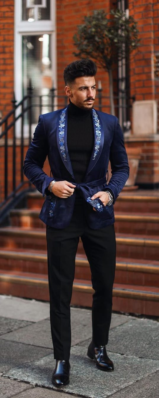 Stunning Robe Suit Outfit Ideas For Men