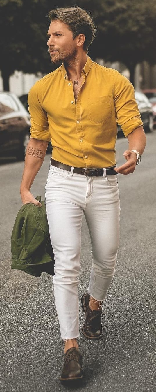 Stylish Dress Shirt Outfit Ideas For Men