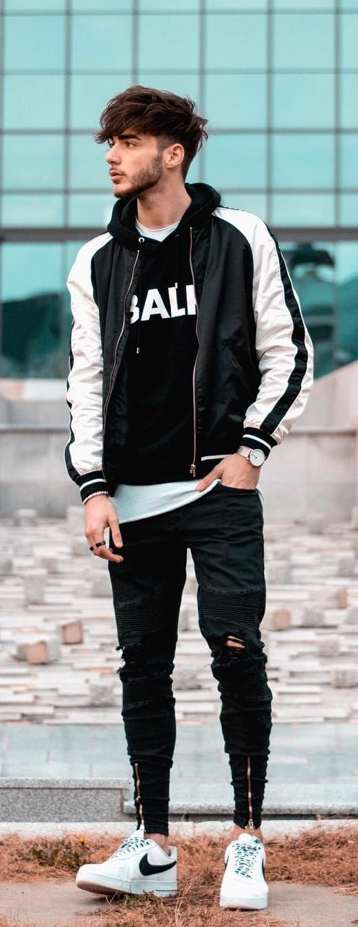 Trendy Street Style Outfit Ideas For Guys
