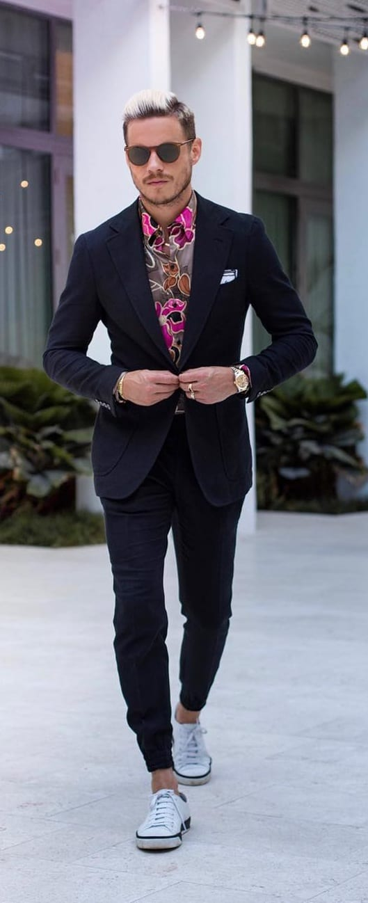 Black Suit Outfit Ideas 2019