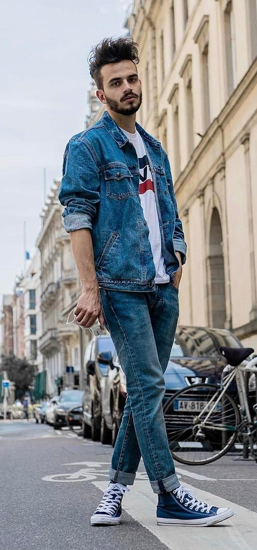 Cool Summer Denim Looks For Men 2019