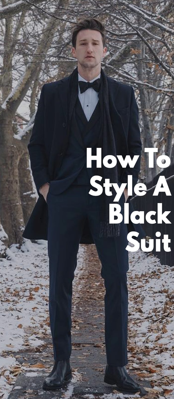 How To Style A Black Suit