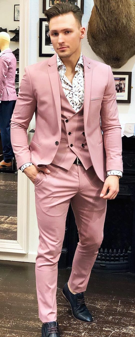 Pastel Suits For Guys In 2019