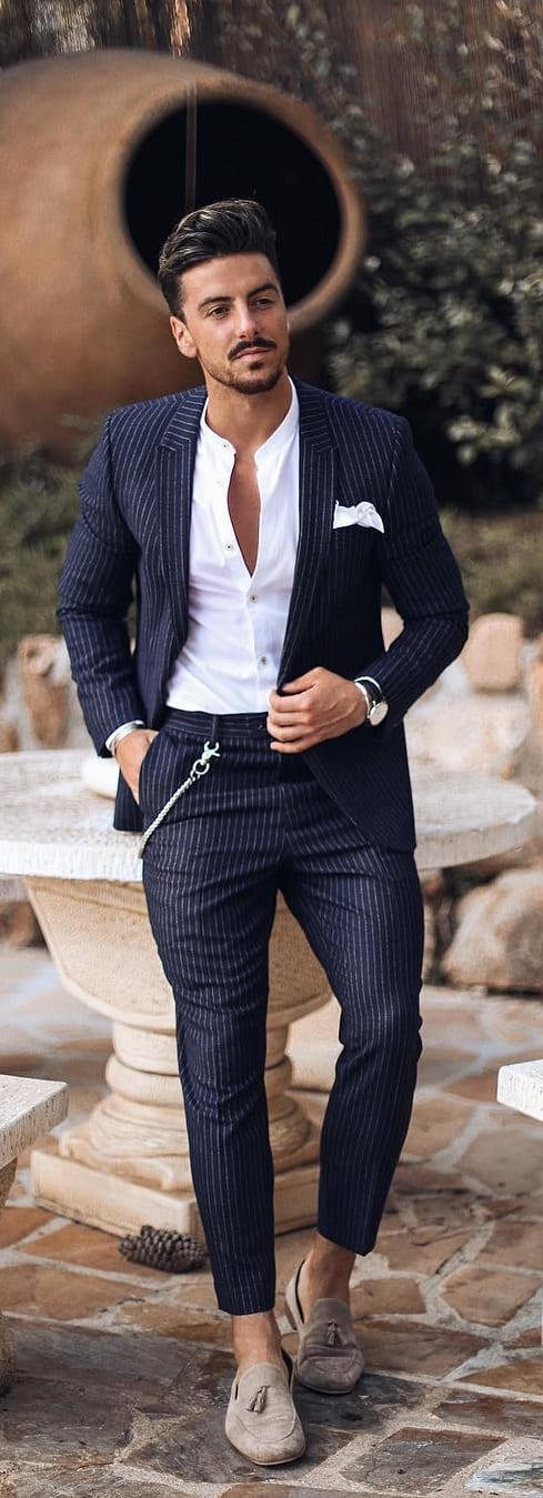 Summer Suits For Men To Try Now