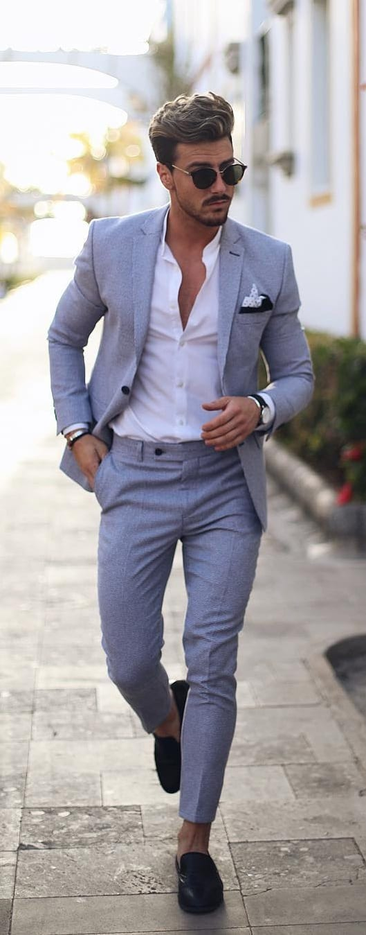Summer Suits Ideas For Men To Style