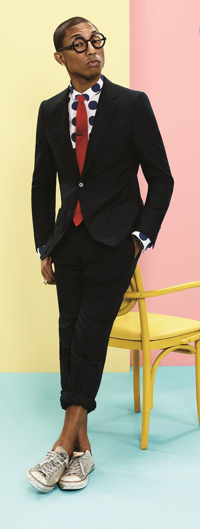 Pharrell Williams Cool Photoshoot