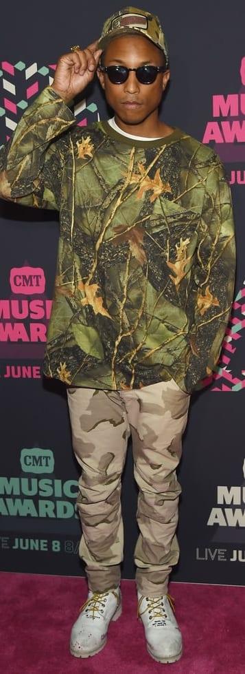 Pharrell Williams Funky Style