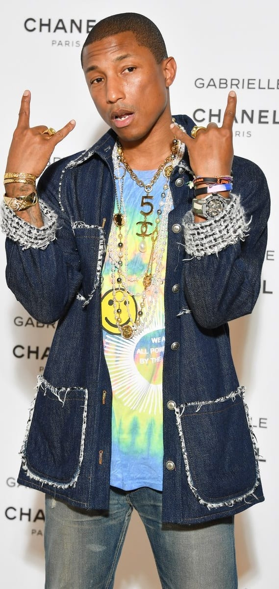 Pharrell Williams Rockstar Style