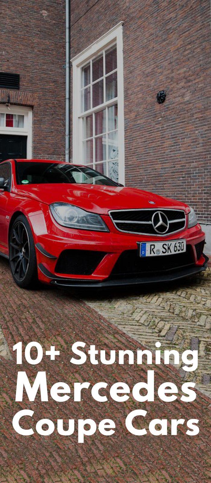 10+ Stunning Mercedes Coupe Cars