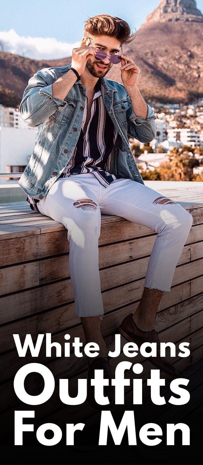 11 White Jeans Outfits To Master Smart Look