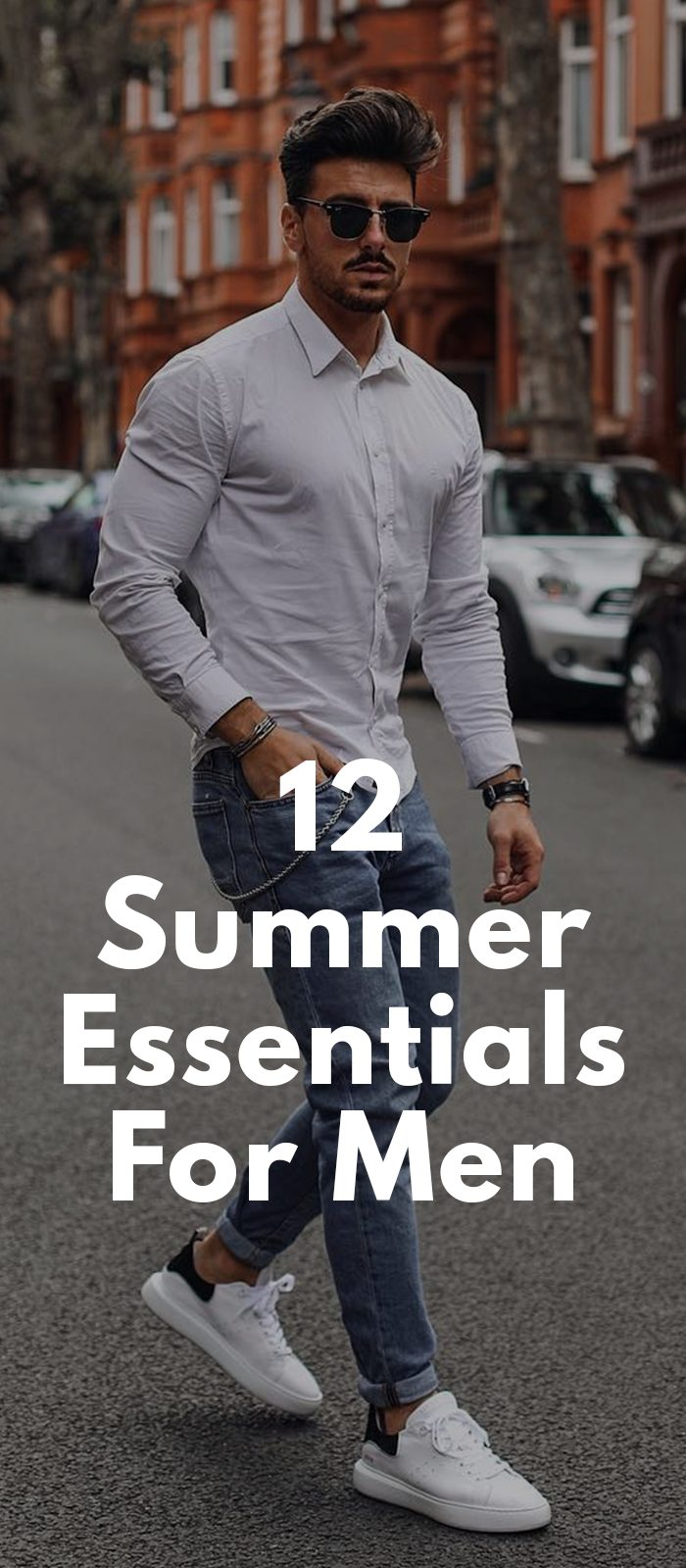 12 Summer Essentials For Men