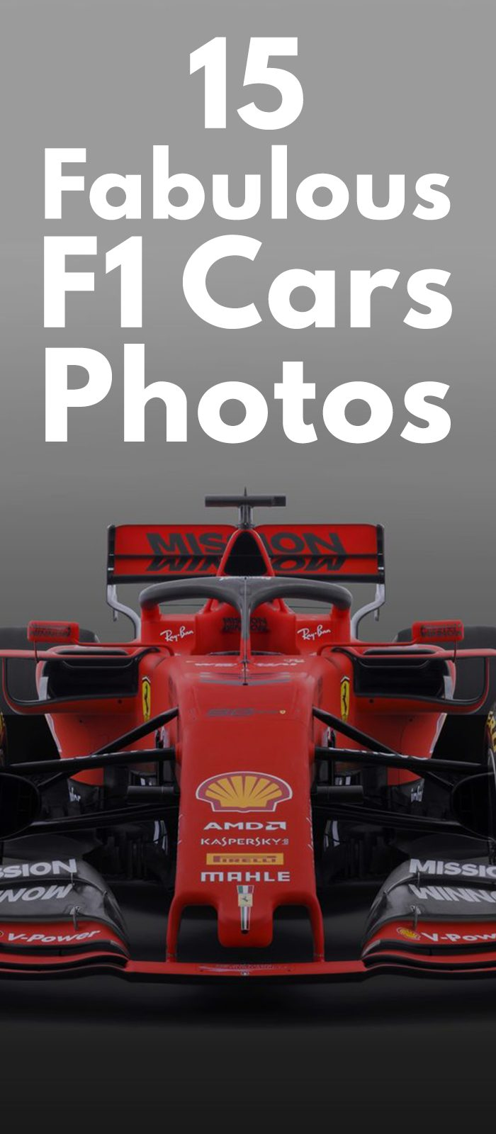 15 Fabulous F1 Cars Photos.
