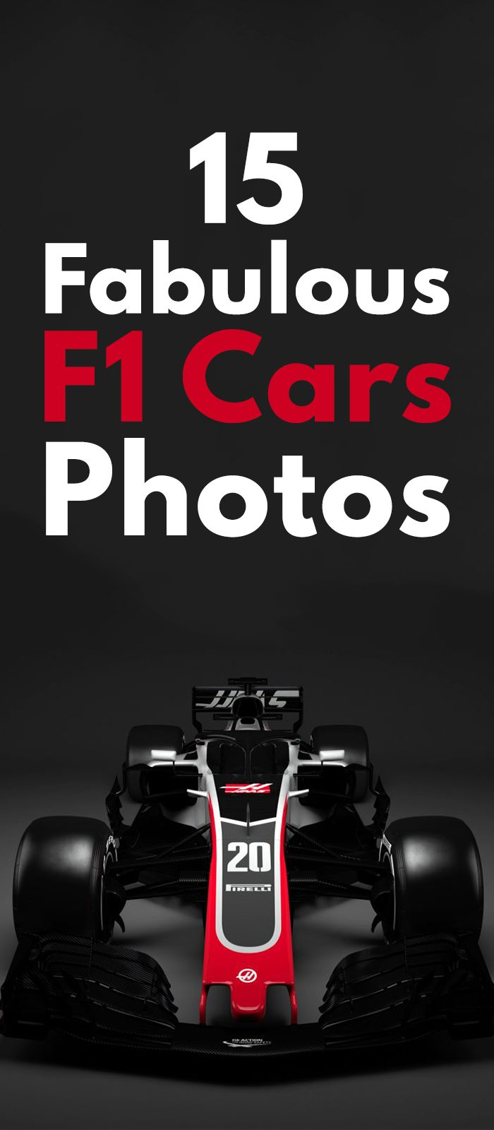 15 Fabulous F1 Cars Photos