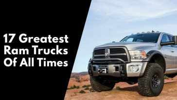 17 Of The Greatest Ram Trucks Of All Times