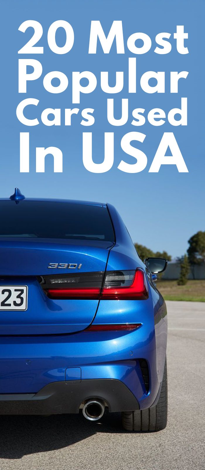 20 Most Popular Cars Used In USA